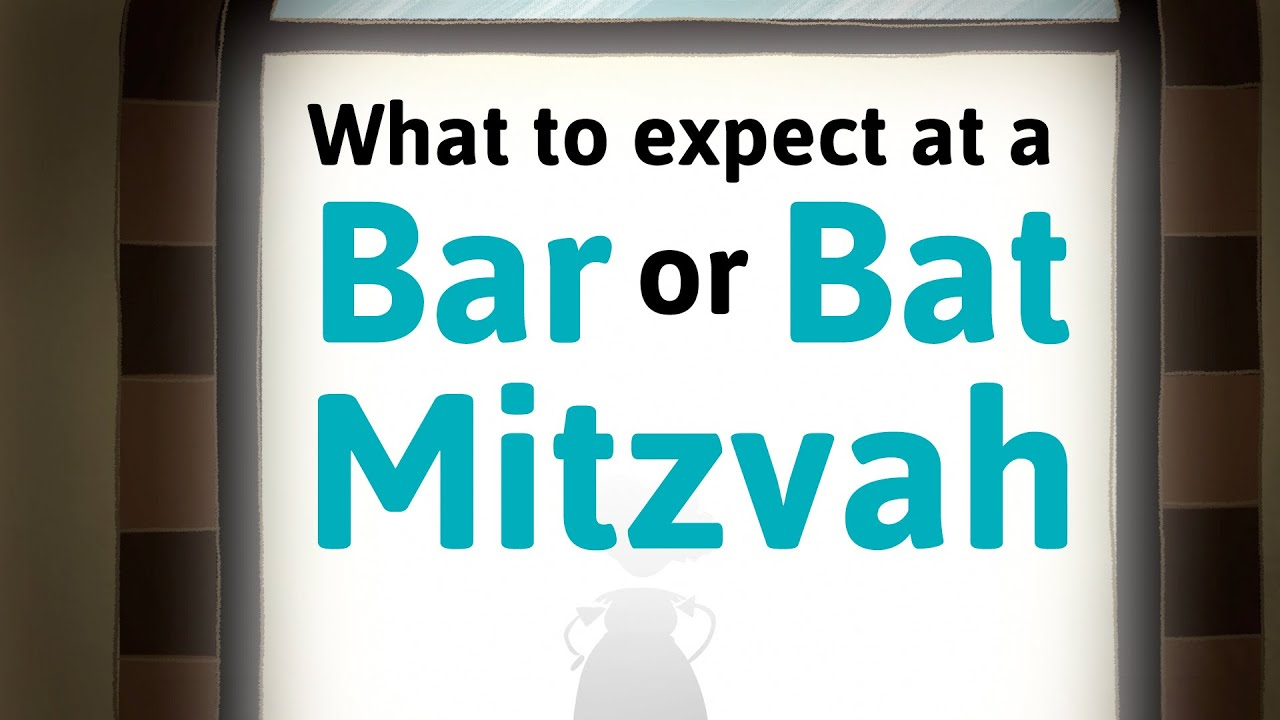 Attending a Bar Mitzvah? Bat Mitzvah? Learn What to Expect - YouTube