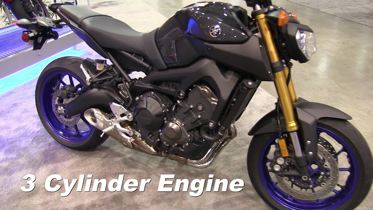 2014 YAMAHA FZ9 3 Cylinder Engine Motorcycle Walk Around Video - YouTube