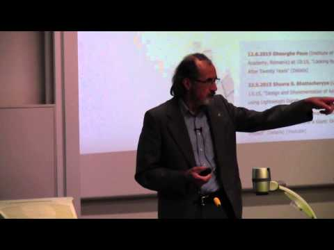TUCS Distinguished Lecture 12.6.2015, Gheorghe Păun