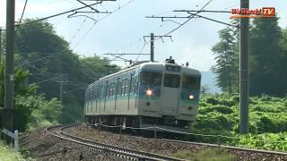 しなの鉄道115系 長野色・しな鉄色 しなの鉄道線を行く