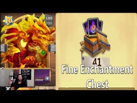 JT's Main Lavanica Enchantment Talent Rolling 41 BOXES Castle Clash