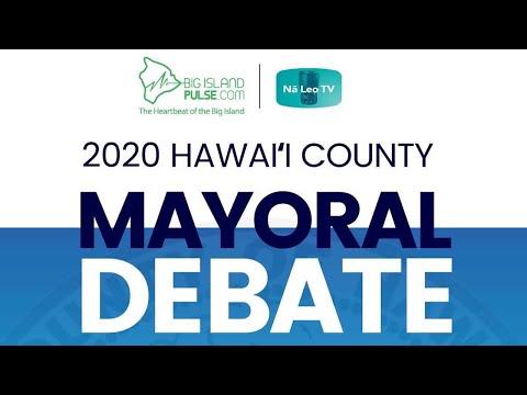 Big Island Pulse LIVE Mayoral Candidate Debate | Hawaiʻi County | June 25, 2020 (PART 2)