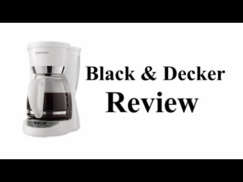 Black & Decker CM1050W Coffee Maker Review - YouTube