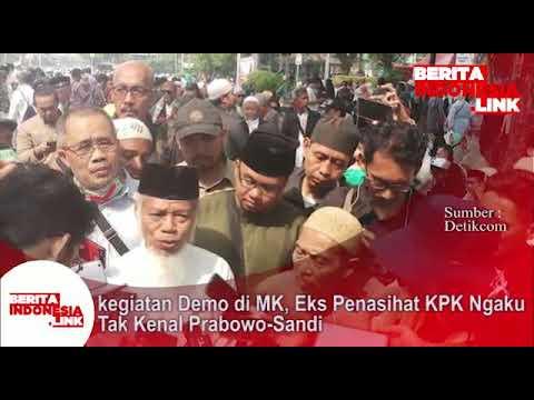 Mantan Penasehat KPK Abdullah M ; saya tida kenal Prabowo-Sandi, aksi ini utk soal  NKRI.