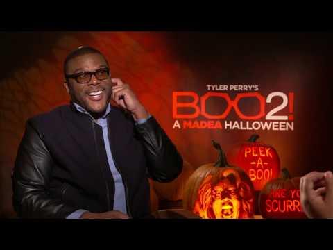 Tyler Perry Interview Boo 2 A Madea Halloween