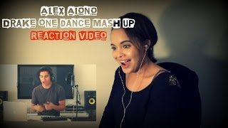 alex aiono one dance mashup reaction video