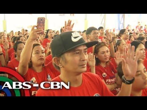 TV Patrol: Otso Diretso nagbahay-bahay; PDP-LaBan nanumpa