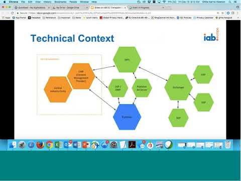 IAB Europe GDPR Webinar Series IV Consent Technical Solution