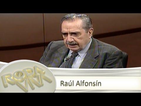 Raúl Alfonsín - 21/05/2001