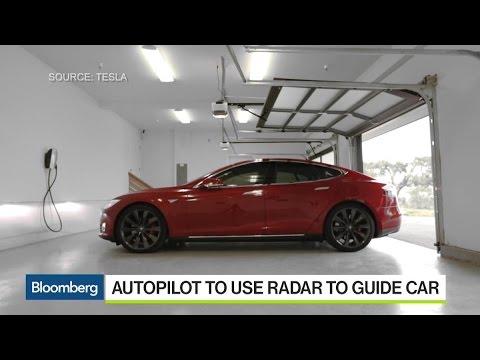 Tesla Unveils Autopilot Software Update