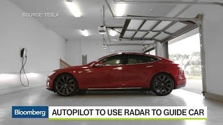 Tesla Unveils Autopilot Software Update