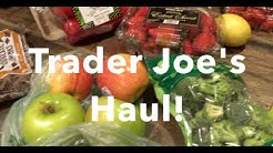 Trader Joe's Haul!  | Produce & Price$!