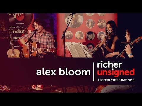 Alex Bloom @ Record Store Day 2018 | Richer Unsigned