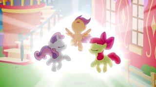 Apple Bloom, Scootaloo y Sweetie Belle Obtienen sus Cutie Marks || Cru. de la Mark Perdida 05X18