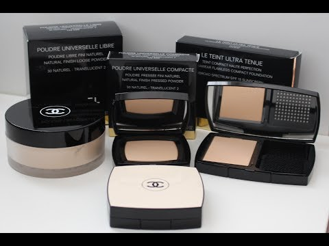 Chanel Makeup 101 | Chanel Powders 101 | Choosing The Right Chanel Powder | DreDreDoesMakeup