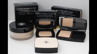 Chanel Makeup 101   Chanel Powders 101   Choosing The Right Chanel Powder   DreDreDoesMakeup
