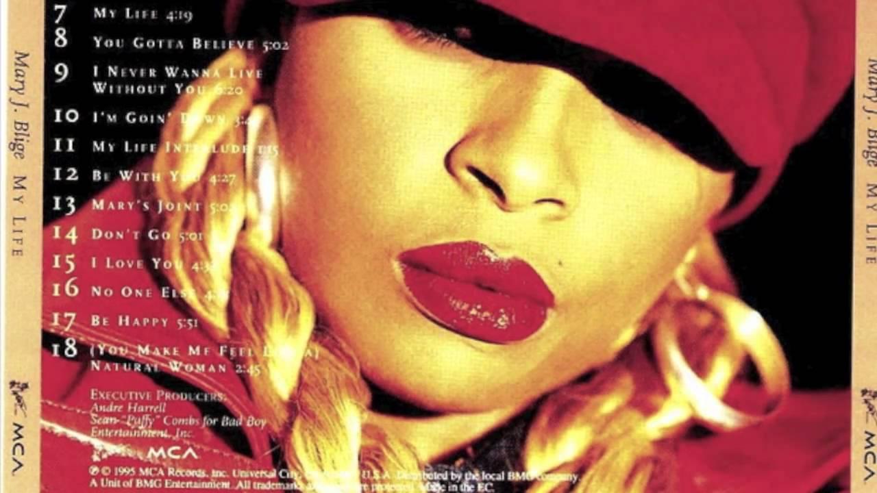 Mary J  Blige- 'My Life' Album Interludes