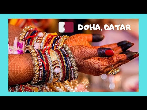 QATAR, making beautiful INDIAN BRACELETS in DOHA