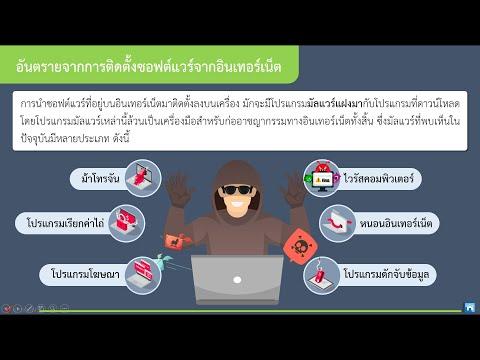 ความปลอดภัยในการใช้เทคโนโลยี