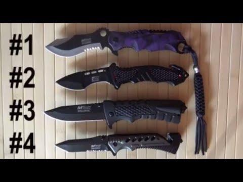 Американские ножи Mtech