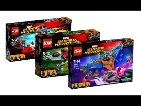 Lego News: Lego Marvel Superheroes Guardians of the Galaxy vol 2 ...