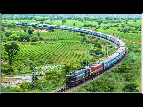 Diverted Trains with Diesel + Electric Combo : Indian Railways
