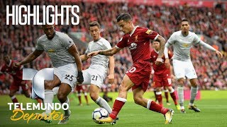 Highlights: Liverpool 0-Manchester United 0 | Copa Mundial Sub-17 de la FIFA India 2017 | Telemundo