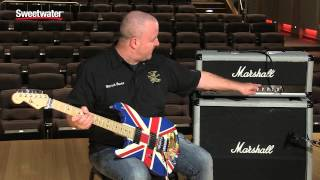 Marshall 2555X Silver Jubilee 100-watt Reissue Tube Head Demo by Sweetwater Sound