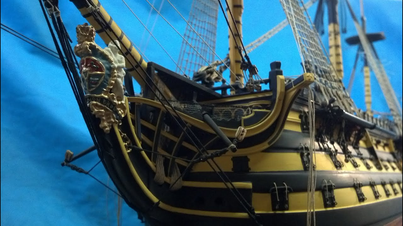 my hms victory part 2 new up pictuers