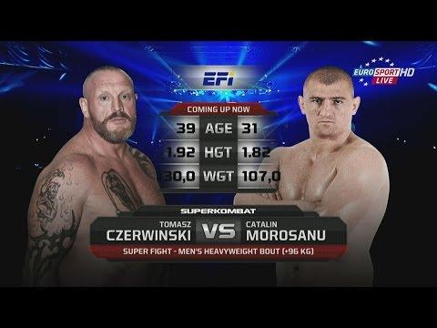 Catalin Morosanu vs Tomasz Czerwinski - Superfight - Superkombat -Milano 02 October 2015