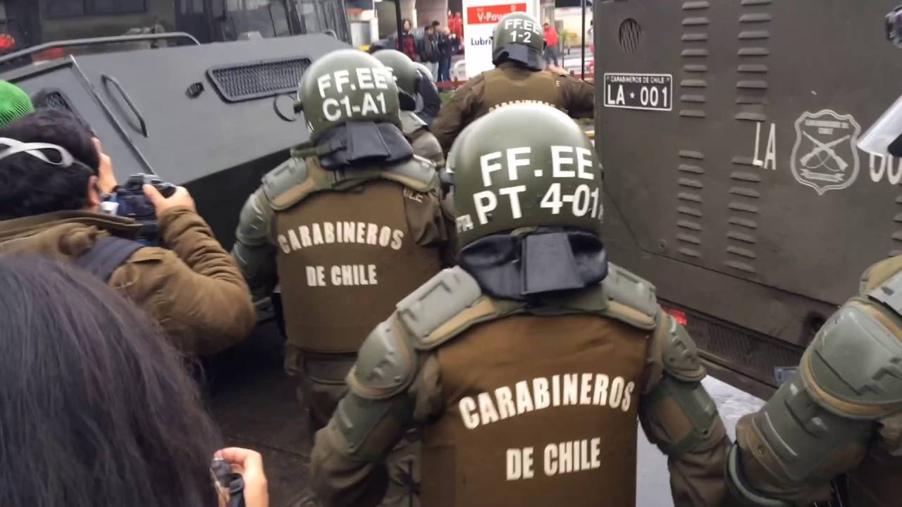 Marcha estudiantil en Temuco