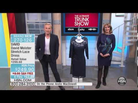 DAVID David Meister Stretch Lace Dress