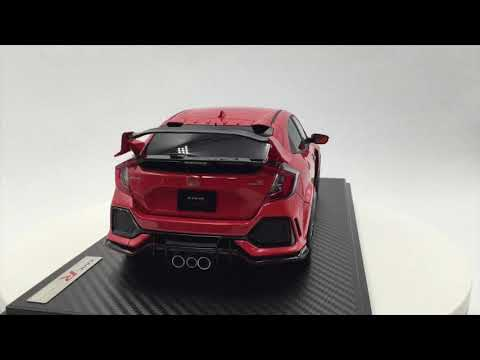 Ignition model 1:18 Honda CIVIC (FK8) TYPE R  Frame Red (IG1444)