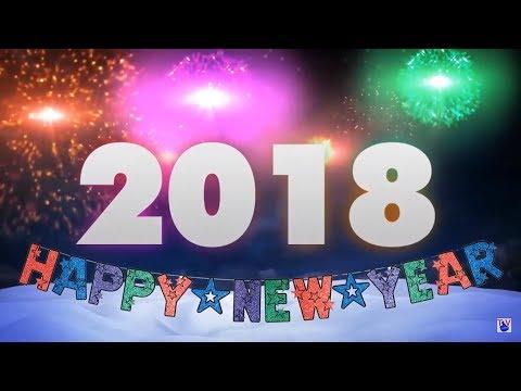 Happy New Year 2018 - Frohes Neues Jahr - Bonne année - Buon Anno - С новым годом - 贺年