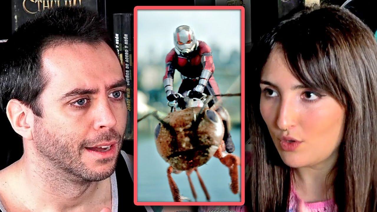 ¿Podremos algún día hacernos pequeños como ANT-MAN? Nanocientífica resuelve la duda a Jordi Wild