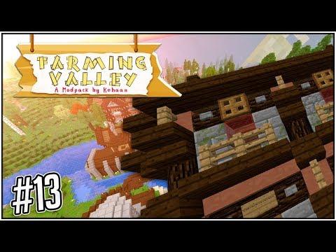 SISTA HUSET TAR PLATS! - #13 - Minecraft: Farming Valley Modpack