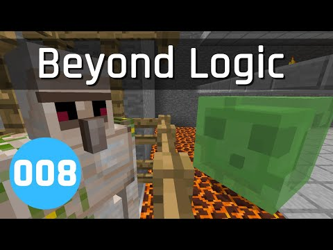 Beyond Logic #8: Slime Farming | Minecraft