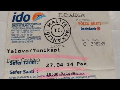 В г.Ялова на пароме из Стамбула за 22 лиры и на маршрутке к термальным бассейнам