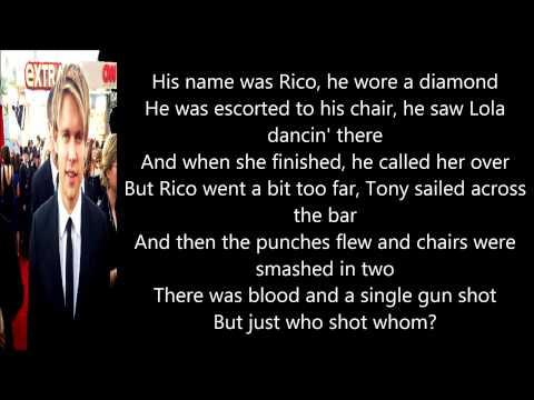 Glee - Copacabana (Lyrics)