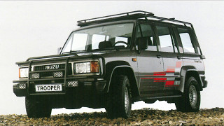 The Best Isuzu Trooper Commercial Photo from 1983 to 1992