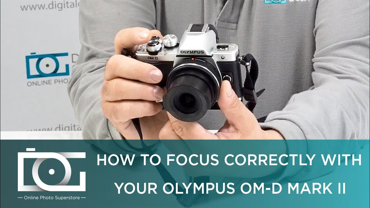 OM-D E-M10 Mark II  TUTORIAL | How To Focus Through the View Finder
