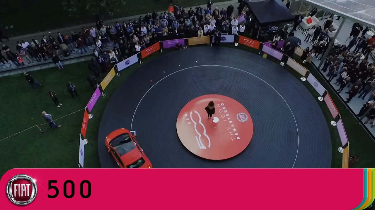 new car launches by fiatNew Fiat 500  Launch Performance with Ella Eyre Best of My Love