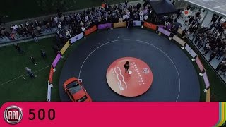 new fiat 500 launch performance with ella eyre best of my love   fiat uk