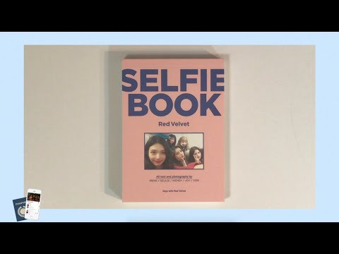 🍰Red Velvet 레드벨벳 Selfie Book Unboxing | sugabey