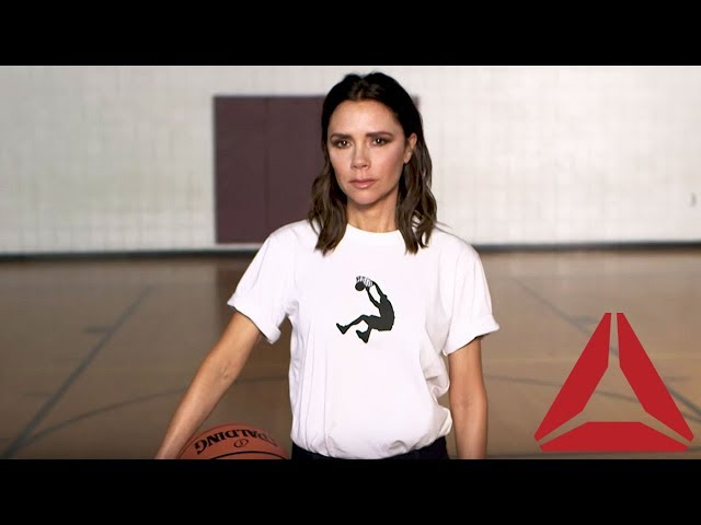 458151714e7 Victoria Beckham s First Collection for Reebok Is Here—and It s Inspired by  Shaquille O Neal - Glamour