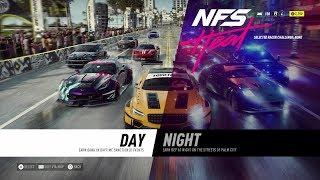 Need for Speed: Heat - Day, Night, Rain, Police Gameplay [1080p HD]