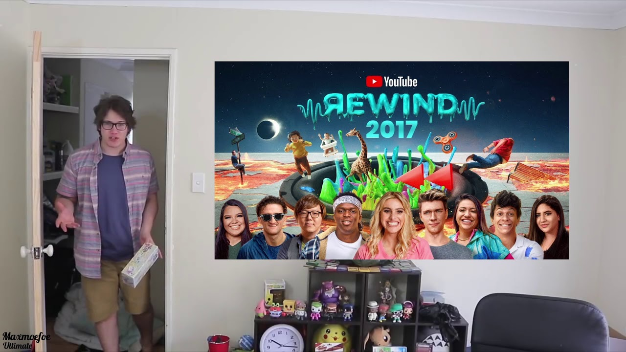 Youtube Rewind 2017 Review