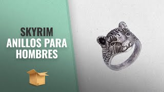 Productos 2018, Los 10 Mejores Skyrim: Punk Viking Bear Animal Rings,Wedding Band Ring Jewelry for
