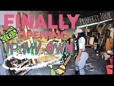 FINALLY! Opening Up My Own..  Property Tour  – [Rahki G Tv]