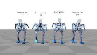 Simulated Bipeds